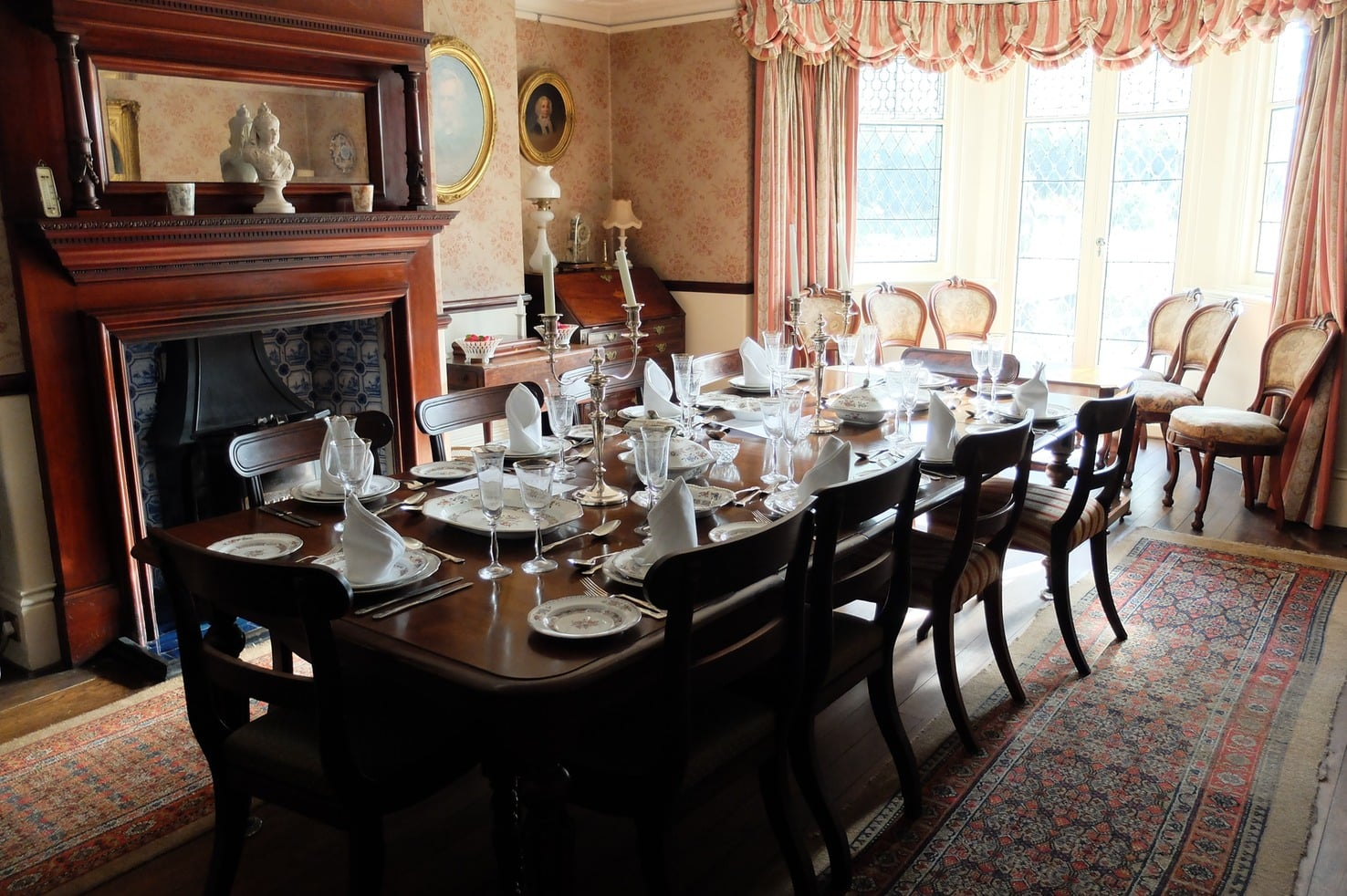 The dining room at Reveley Lodge