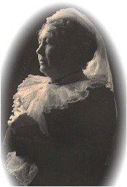 A portrait of Maria Chewett.