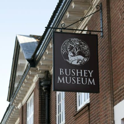 Bushey Museum sign