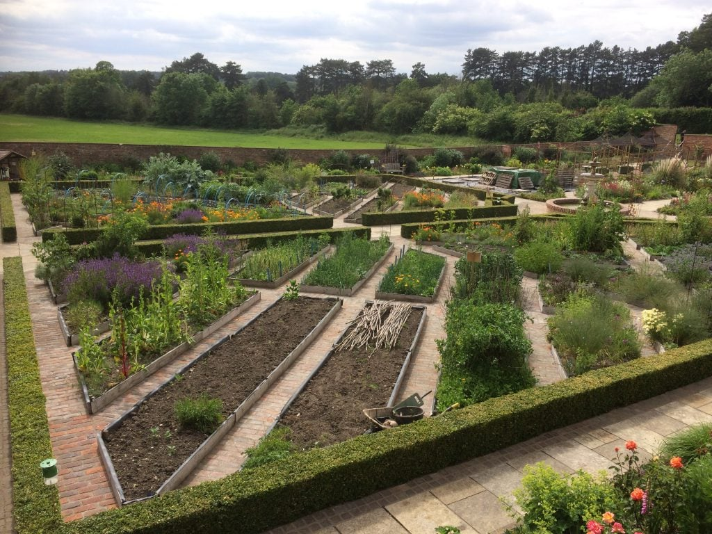 The walled garden at Church Gardens
