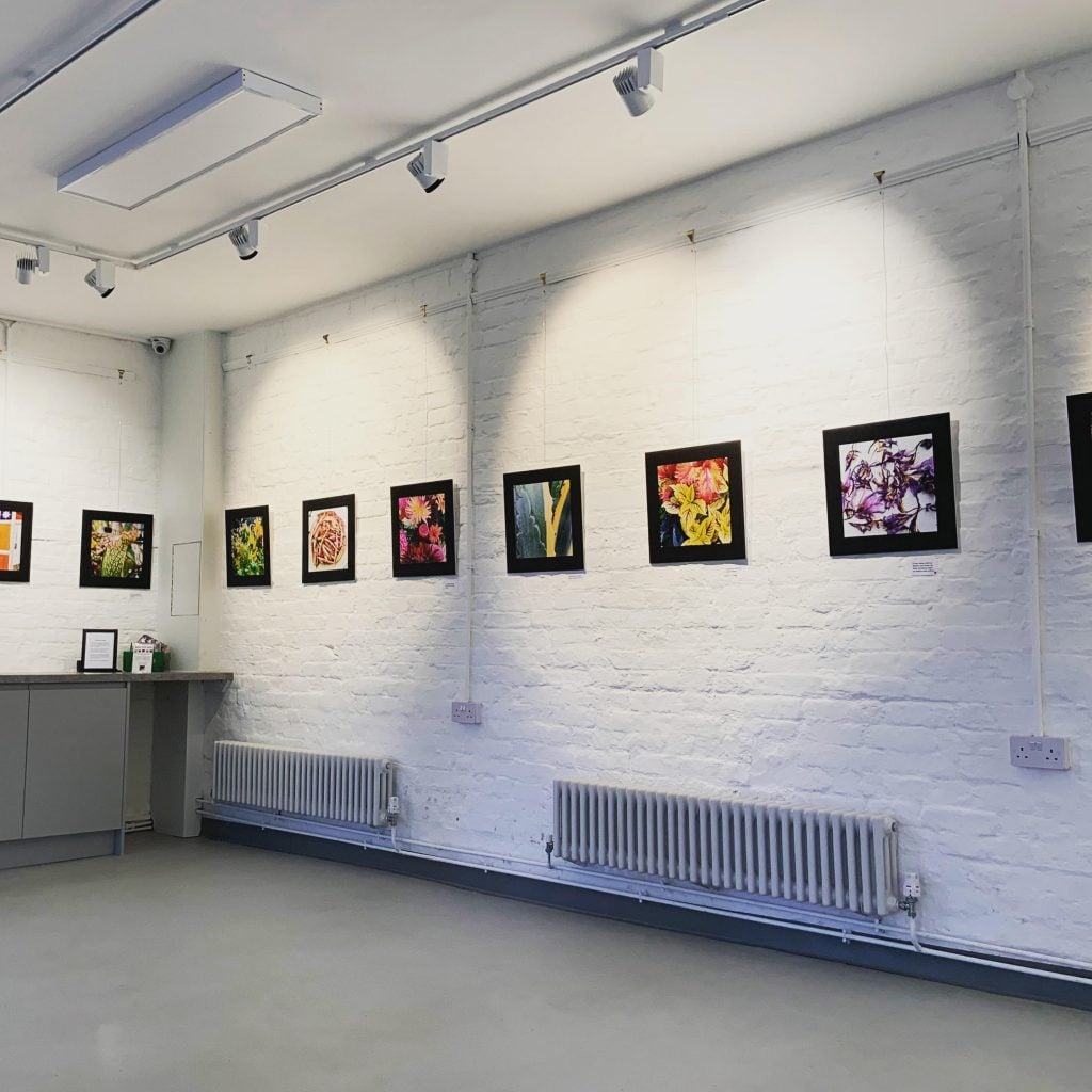 Photography exhibition in the stables gallery