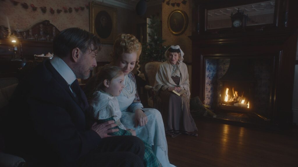 A Christmas Carol filmed at Reveley Lodge.